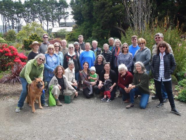 Mendocino County Master Gardener Class 2018
